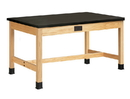 Diversified Woodcrafts P7802K30SE Plain Apron Table