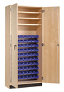 Diversified Woodcrafts PSC-80 Parts Storage Cabinet - 80 Bins