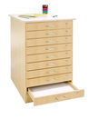 Diversified Woodcrafts T-1000 Taboret - 10 Drawers