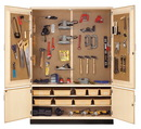 Diversified Woodcrafts TC-12WT General Tool Storage Cabinet With Tools