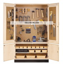 Diversified Woodcrafts TC-4810 Woodworking Tool Storage Cabinet - 48