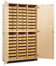 Diversified Woodcrafts TTC-48 Tote Tray Cabinet - 48 Trays