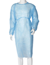 Aspire Pack of 10 Disposable Painters Coveralls Non Woven Plastic Film Protective Gown with Elastic Cuff