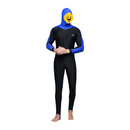 GOGO Men's Hooded Full Wetsuit One Piece Diving Suit