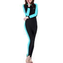GOGO Women's Full Wetsuit Long Sleeve Swim Suit