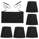 Aspire 100% Cotton Waist Apron with 3 Pockets Waiter Server Half Aprons for Kitchen Restaurant