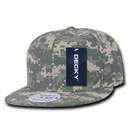 Decky 1047 Digital Camo Snapbacks