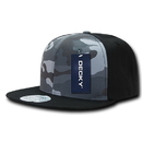 Decky 1049 Camo Cotton Snapbacks
