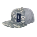 Decky 1055 Camo FLAT Bill Trucker Caps