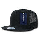 Decky 1063 5 Panel Flat Bill Trucker Hats