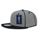 Decky 1078 Piped Crown Snapbacks