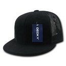 Decky 1081 6 Panel Flat Bill Terry Trucker