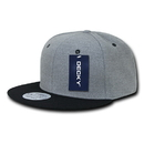 Decky 1087 Melton Crown Snapbacks