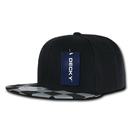 Decky 1095 Checkered Bill Snapbacks
