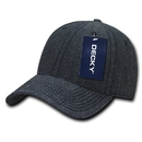 Decky 116 Structured Washed Denim Caps