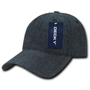 Decky 117 Relaxed Washed Denim Cap