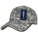 Decky 216 Relaxed Cotton Camo Caps