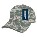 Decky 216 Low n Soft Crown Camo Caps