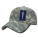 Decky 217 Low Crown Camo Baseball Caps