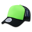 Decky 220 Two Tone Neon Foam Trucker Caps