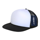 Decky 224 Two Tone Flat Bill Foam Caps