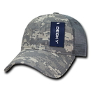 Decky 225 Relaxed Camo Trucker Caps