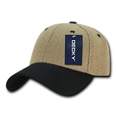 Decky 230 Low Crown Structured Jute Hat