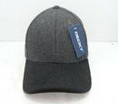 Decky 236 Low Crown Melton Caps, Charcoal/Black