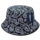 Decky 459 Paisley Bucket Hats