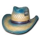 Decky 522 Sea Breeze, Raffia Straw Cowboy Hat