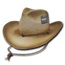 Decky 525 Paper Straw Cowboy Hat, Glazed