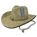 Lunada Bay 526 Straw Cowboy Hat, Natural