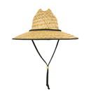 Lunada Bay 528 Mat Straw Lifeguard Hat, Natural