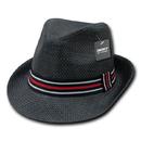 Decky 530 Paper Straw Fedora Hat