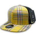 Decky 6016 H/C Plaid, Black Mesh Cap