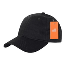 Decky 802 TearAway Relaxed Washed Cap, Black