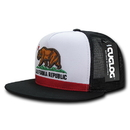 CUGLOG C32 Cali Flag 5 Panel Trucker Caps