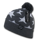 Kristen Whang H003 New York Beanie, Grey