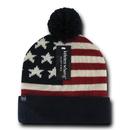 Decky H004 Flag Beanies, USA