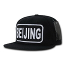Nothing Nowhere N10 City Patch Caps, Black