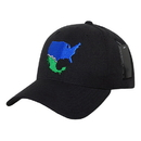 Nothing Nowhere N30 The Great Wall Cap, Black