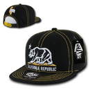 WHANG W32 Cali Bear Contra-Stitch Snapback