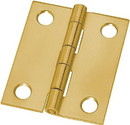 D. Lawless Hardware Butt Hinge - Brass Plated - Square 1-1/2