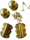 Kimberly Bay Brass Elegance Self-Closing Screen Door Kit