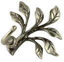 Brainerd Augustine Robe Hook - Pewter - Large & Lovely, AN0285C-PEW-R