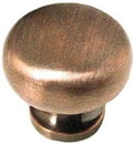 Liberty Hardware Brushed Red Copper Knob - 1-3/16