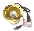 D. Lawless Hardware Daisy Chain Option Canister Light Brass w/ Trim Ring, M10-C1-235MRTDBK