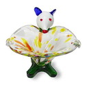 D. Lawless Hardware Hand-Crafted Art Glass Mouse, MONKEY-S-P