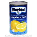 Bluebird From Concentrate Shelf Stable White Grapefruit Juice