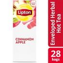 Lipton Hot Cinnamon Apple Tea Bags 28 Ct - 6 Per Case